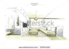 Interior House Drawing Simple House Drawing Stock Images Royalty Free Images U0026 Vectors