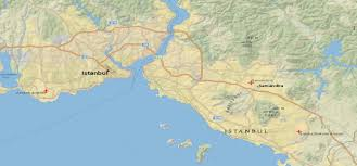 Istanbul World Map by Istanbul Maps