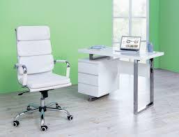 B Obedarf Schreibtisch Schreibtisch Shine Hochglanz Verchromt