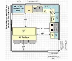 Kitchen Floor Plans Designs Looking For Inspiration For L Shaped Kitchen This Site Has A