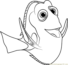 babby dory printible coloring pages coloring