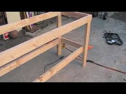 how to build a work bench youtube