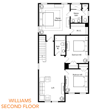 Poplar Forest Floor Plan by The Williams Sabal Homes