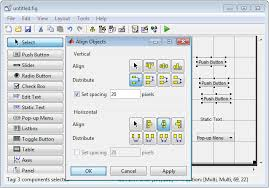 text layout programming guide create a simple app using guide matlab simulink