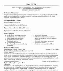Resume Communication Skills Sample by Best Intensive Care Unit Registered Nurse Resume Example Livecareer