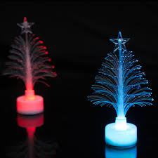 christmas tree shaped lights 6pcs christmas tree led light color changing l home decoration