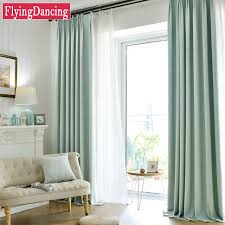 custom made kitchen curtains aliexpress com buy modern solid linen blackout curtains for