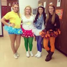 Summer Halloween Costume Ideas Four Seasons Halloween Costume Four Girls Spring Summer Fall