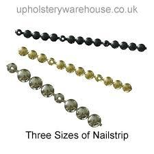 Upholstery Nail Strips Tacks And Nails