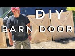How To Build A Barn Door Frame Diy How To Build A Barn Door Youtube