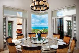 Dining Room Table With Lazy Susan by The Islands Of The Turks U0026 Caicos