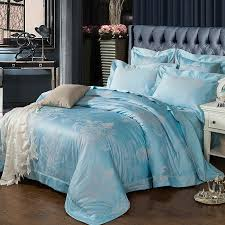 Light Blue Bed Comforters Ice Blue Bedding Sets Levtex Home Ice Blue Miccah Quilt Set 95