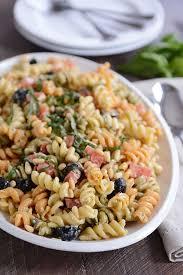 recipes for pasta salad tri color pasta salad recipe mel s kitchen cafe recipes