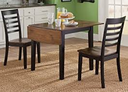 Black And Wood Dining Table Amazon Com Liberty Furniture Cafe Drop Leaf Dining Table In