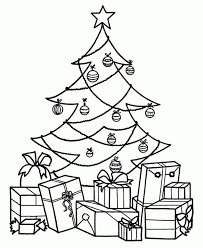 christmas trees to colour in for kids babsmartin com