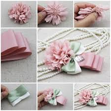 How To Make Flower Hair Clips - cool creativity