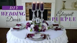 purple wedding decorations diy wedding decoration purple wedding decorations
