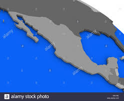 Mexico On Map Mexico Map Political Map Stock Photos U0026 Mexico Map Political Map