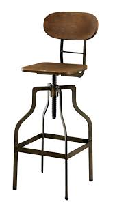 Wooden Swivel Bar Stool Furniture Modern Swivel Bar Stools With Arms On Leg