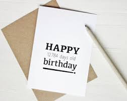 funny 50th birthday card happy 18262 days old birthday 50