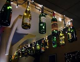 wine bottle string lights 25 wonderful ideas and tutorials to decorate your home with string