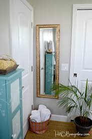 Wood Mirror Frame Inspirational Words Diy Full Length Wood Mirror Frame H20bungalow