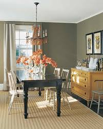 Dining Room Floor Neutral Rooms Martha Stewart