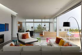 Beach Living Room by Modern White Nuance Of The Contemporary Modern Beach House That