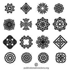 2535 free decorative vector ornaments domain vectors