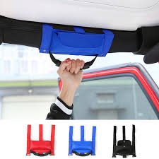 jeep wrangler grips mopai car interior grab handles grip handle with storage bag for