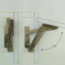 top hinge kitchen cabinets pair of cabinet door lift up flap top support kitchen