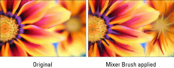 how to blend colors with the mixer brush tool in photoshop cs6
