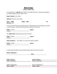 Car Bill Of Sale Alabama by 45 Fee Printable Bill Of Sale Templates Car Boat Gun Vehicle Cake
