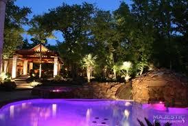 poolside lighting in dallas tx u0026 fort worth tx professional