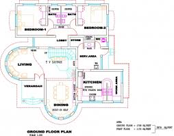 fantastical house designs and floor plans in kerala 1 with
