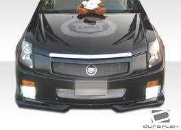 cadillac cts bumper 2003 2007 cadillac cts duraflex platinum front bumper cover 1pc