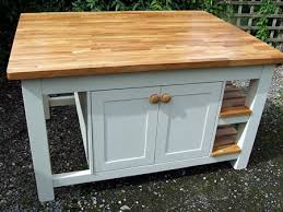 free standing kitchen islands uk freestanding kitchen island with two tier shelves cupboards