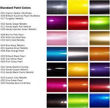 chart gm paint colors chart