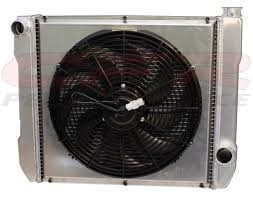electric radiator fans and shrouds cfr ultracool aluminum radiator kit chevy street strip 24 x 19
