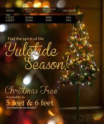 Christmas Decorations Online Store Philippines by 5ft U0026 6ft Christmas Tree Free Delivery Christmas Tree Tcat