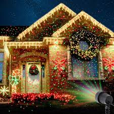 star bright christmas light projector christmas laser projector star red green showers light outdoor