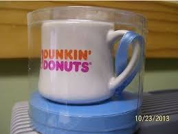mug ornament dunkin donuts coffee house collectibles