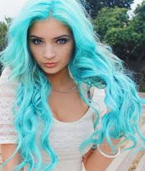 show me hair colors bold turquoise hair colors for 2017 best hair color ideas