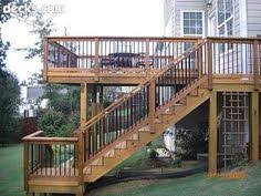 with special construction using an under deck drainage system the
