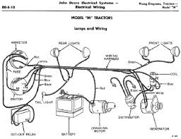 jd model m wiring diagram yesterday s tractors