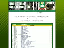 noun open courseware