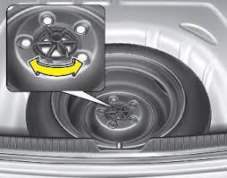 2011 hyundai elantra spare tire hyundai elantra removing and storing the spare tire if you