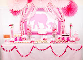 baby shower for girl 40 baby shower decoration ideas pink elephant babies and