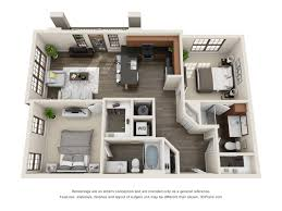 Eliot House Floor Plan by The Lexington Dilworth Apartments In Charlotte Nc