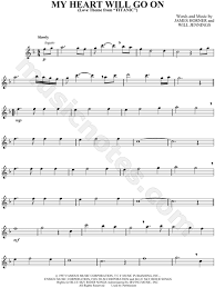 film titanic music download celine dion my heart will go on sheet music flute solo in f